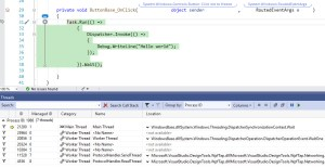 visual studio attach to process