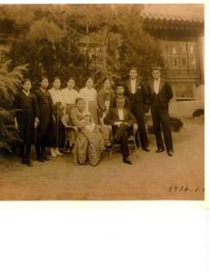 Seo (서 or 徐) family of Daegu, Korea, circa 1934.