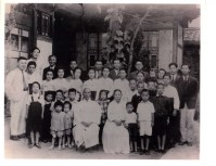 Seo (서 or 徐) family of Daegu, Korea, circa late 1940s