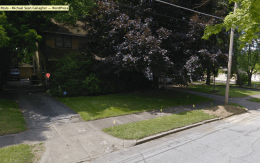 My childhood home (as seen from Google Maps).