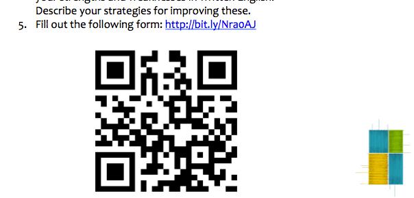 Embed form or QR code in slides