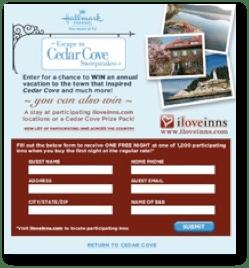 Cedar Cove Promotion