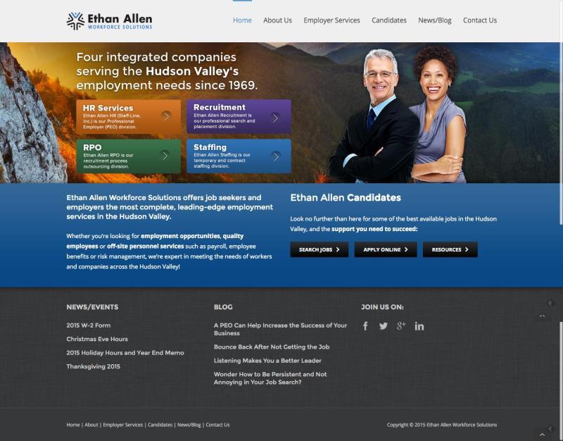 Ethan Allen Workforce Solutions - Recruitment Staffing & PEO
