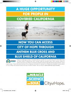 Covered California Ad