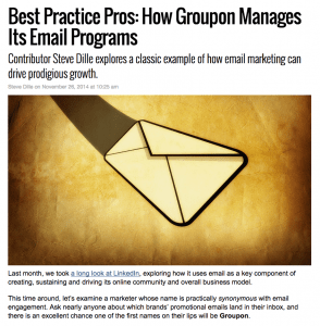 Message Systems MarketingLand column – Groupon