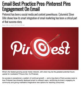 Message Systems MarketingLand column – Pinterest