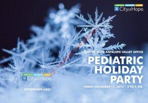 Pediatric Party Flyer