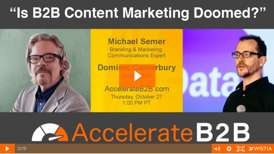 Watch Me Content-ificate With AccelerateB2B!