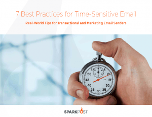 7 Best Practices for Time-Sensitive Email eBook