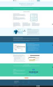 Symphony eCommerce Platform Page