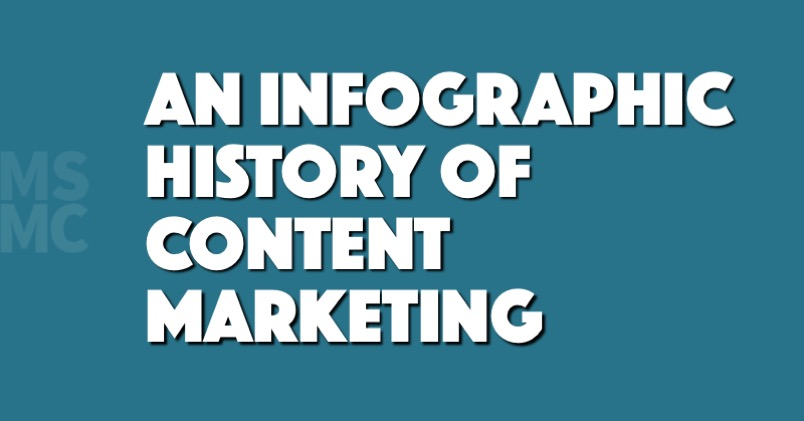 An Infographic History of Content Marketing