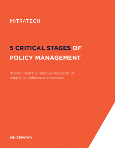5 Critical Stages of Policy Management