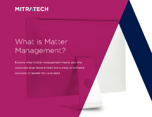 What Is Matter Management? eBook