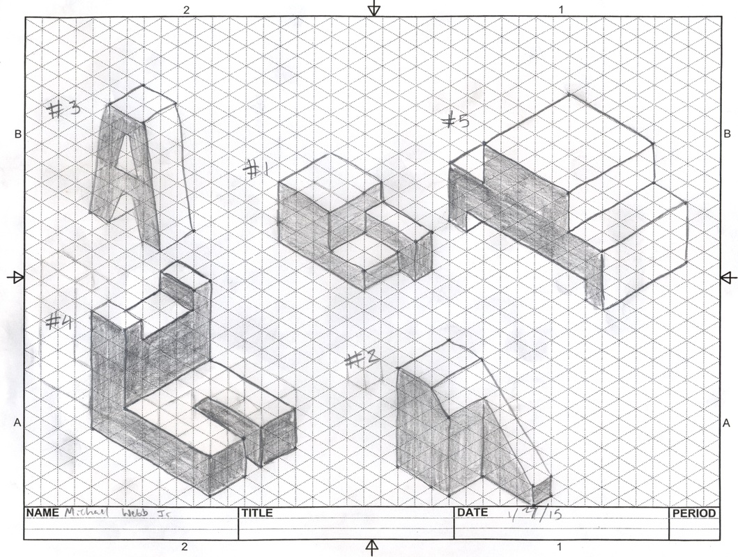 Image result for isometric drawing exercises with answers