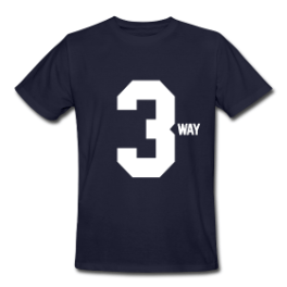 3way mens tee by Michael Shirley