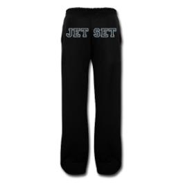 Jet Set mens sweatpants by Michael Shirley