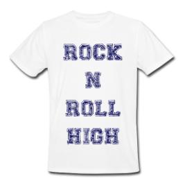 Rock 'N' Roll High mens tee by Michael Shirley