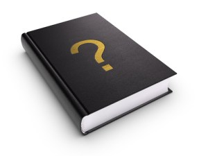 question mark book cover