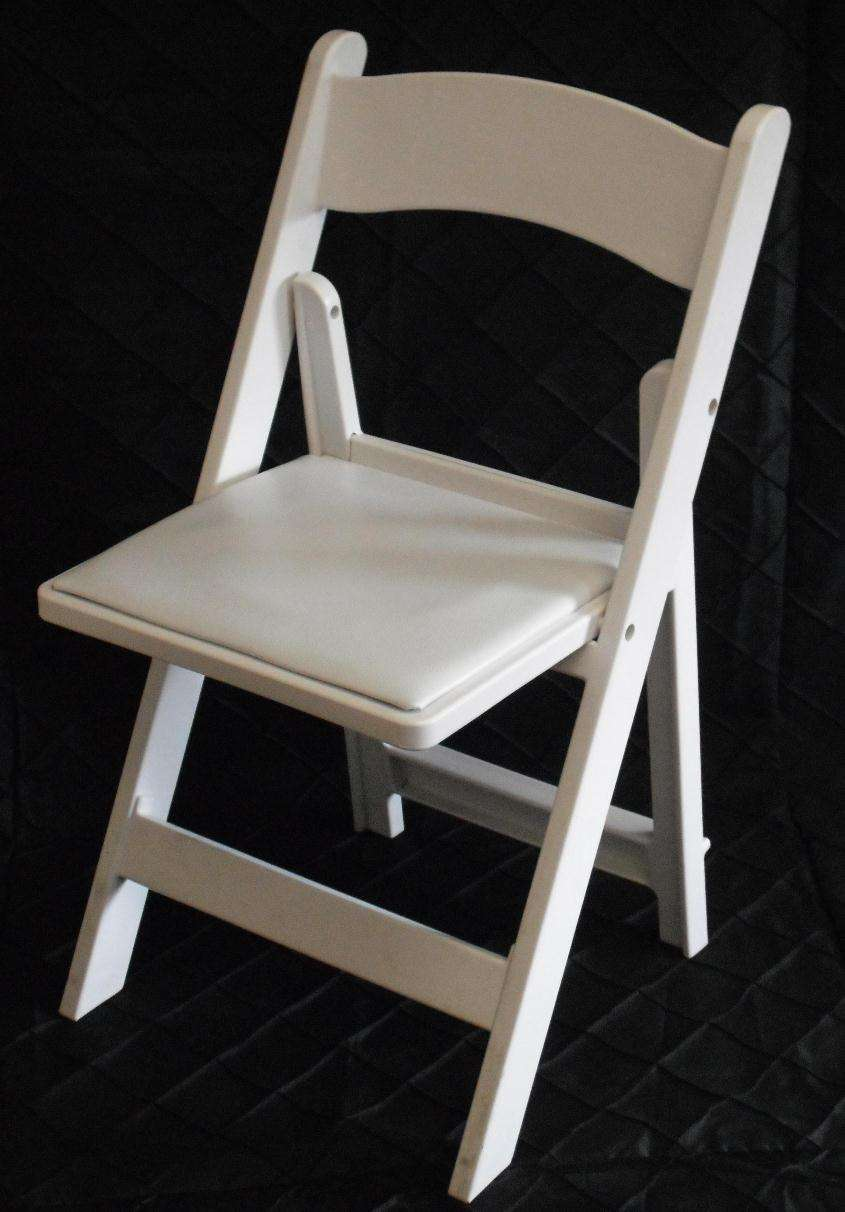 Party Chair Rentals White Padded Garden Chair