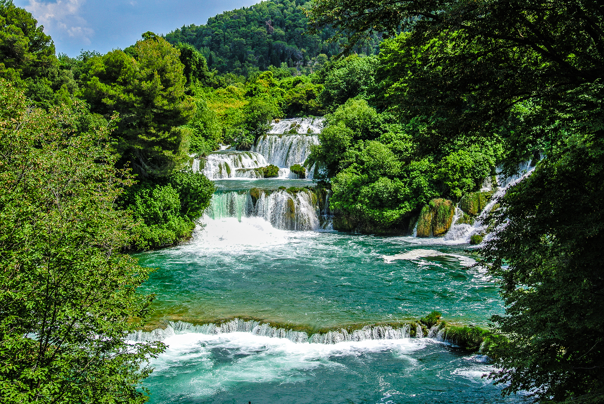 Travel Background Hd Wallpapers Free Niagra Falls Krka National Park Wunderscapes Travel