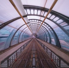 Tunnel Collage (Poplar and Southend Pier)