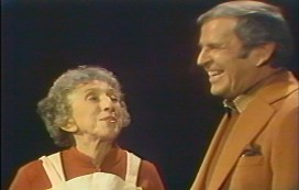 Margaret Hamilton and Paul Lynde