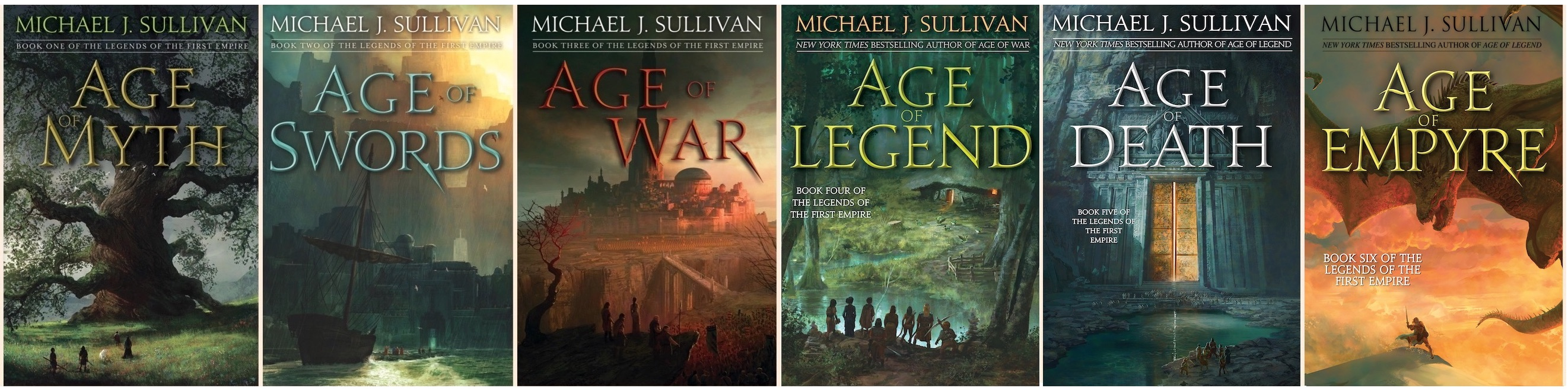 Legend of the First Empire Covers