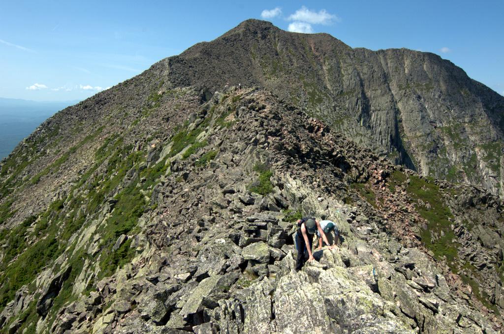 Hiking Mount Katahdin Baxter State Park  michaelsulockcom
