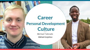 Mikhail Interviews Me on Careers, Culture and Personal Develop