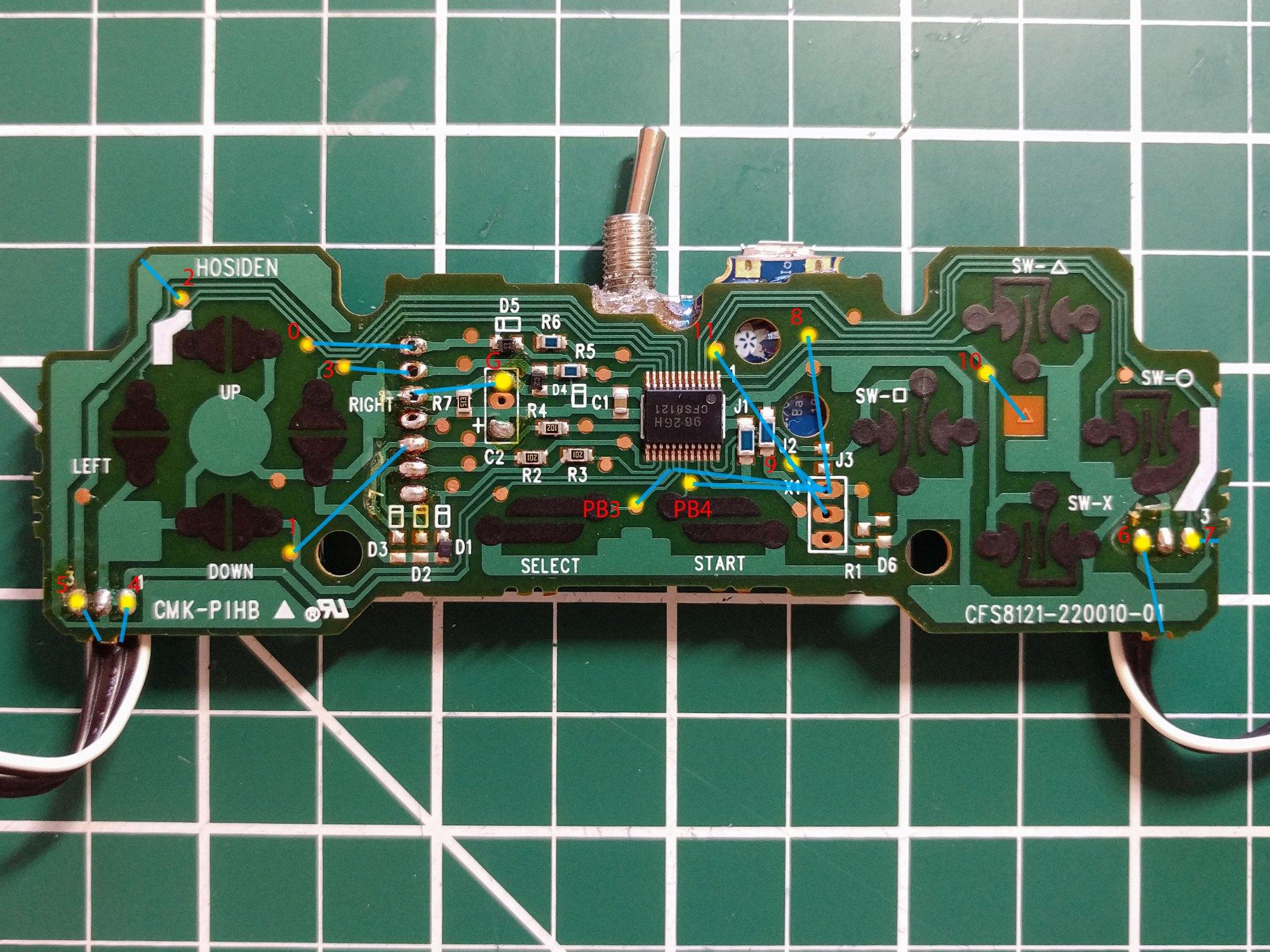 hight resolution of soldermap