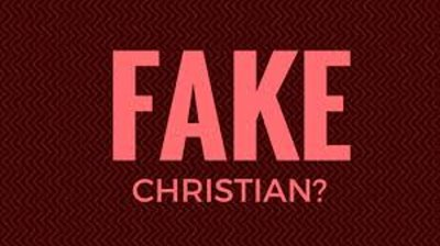Christian is Just A Statement Not A Fact Until it is Proven