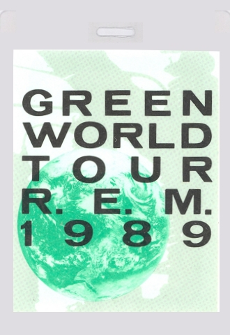 Image result for R.e.m the green world tour