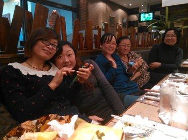 Middle School English teachers. Zibo, Shandong, China.
