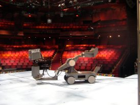 View of the house from the Wurtle Thrust Stage, Guthrie Theatre, Minneapolis, MN. March 2009.