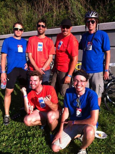 Powderhorn 24 Bike Race crews. Minneapolis, MN, USA.