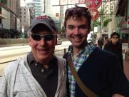 In Hong Kong with Mike Kneisl