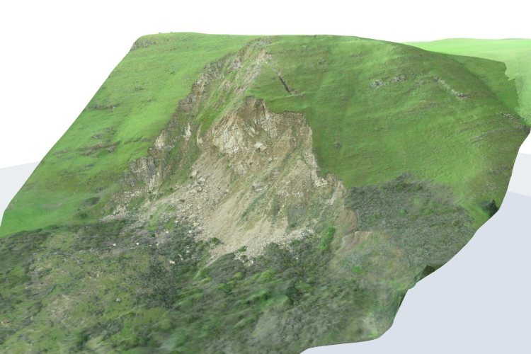 Terrain mapping in Free Flight