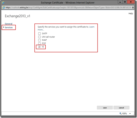 Configuring Certificates in Exchange Server 2013 Preview