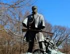 Union soldier statue