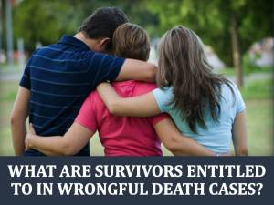 What Are Survivors Entitled To In Wrongful Death Cases?