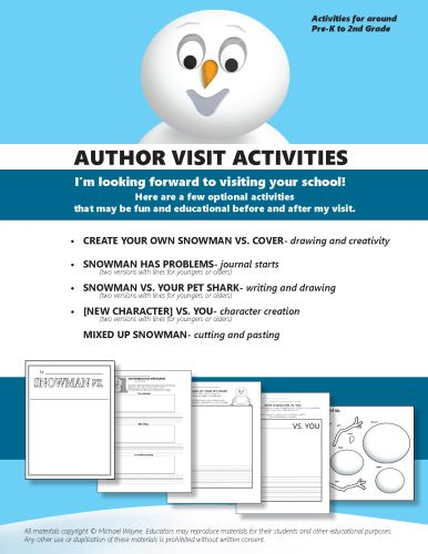 AUTHOR VISIT ACTIVITIES