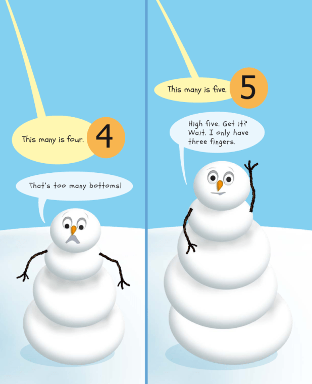 Snowman Vs. ABC & 123, page 15