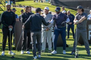 Larry Fitzgerald, Tiger Woods, Freddy Couples, Oliver Hudson, Reggie Bush and Mark Wahlberg Celeb Cup 2019-1