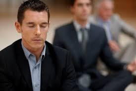 businessmen mediating