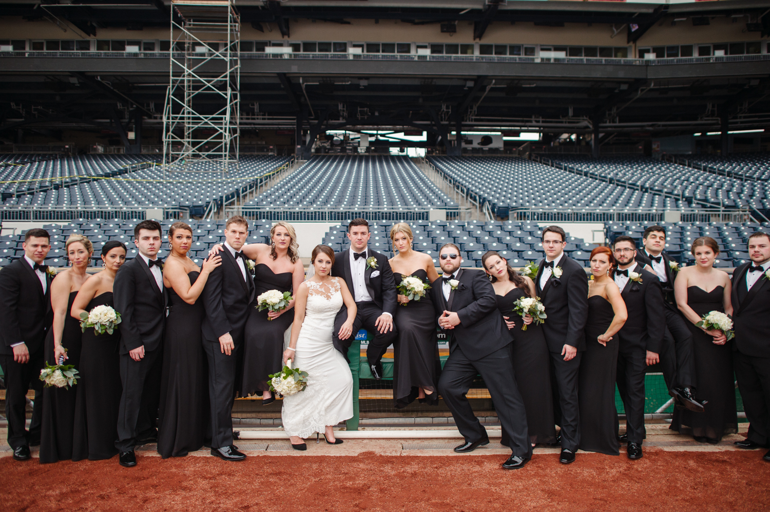 pnc park weddings photographer pittsburgh