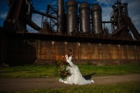 Carrie Furnace Wedding Photography - Styled Photo Shoot