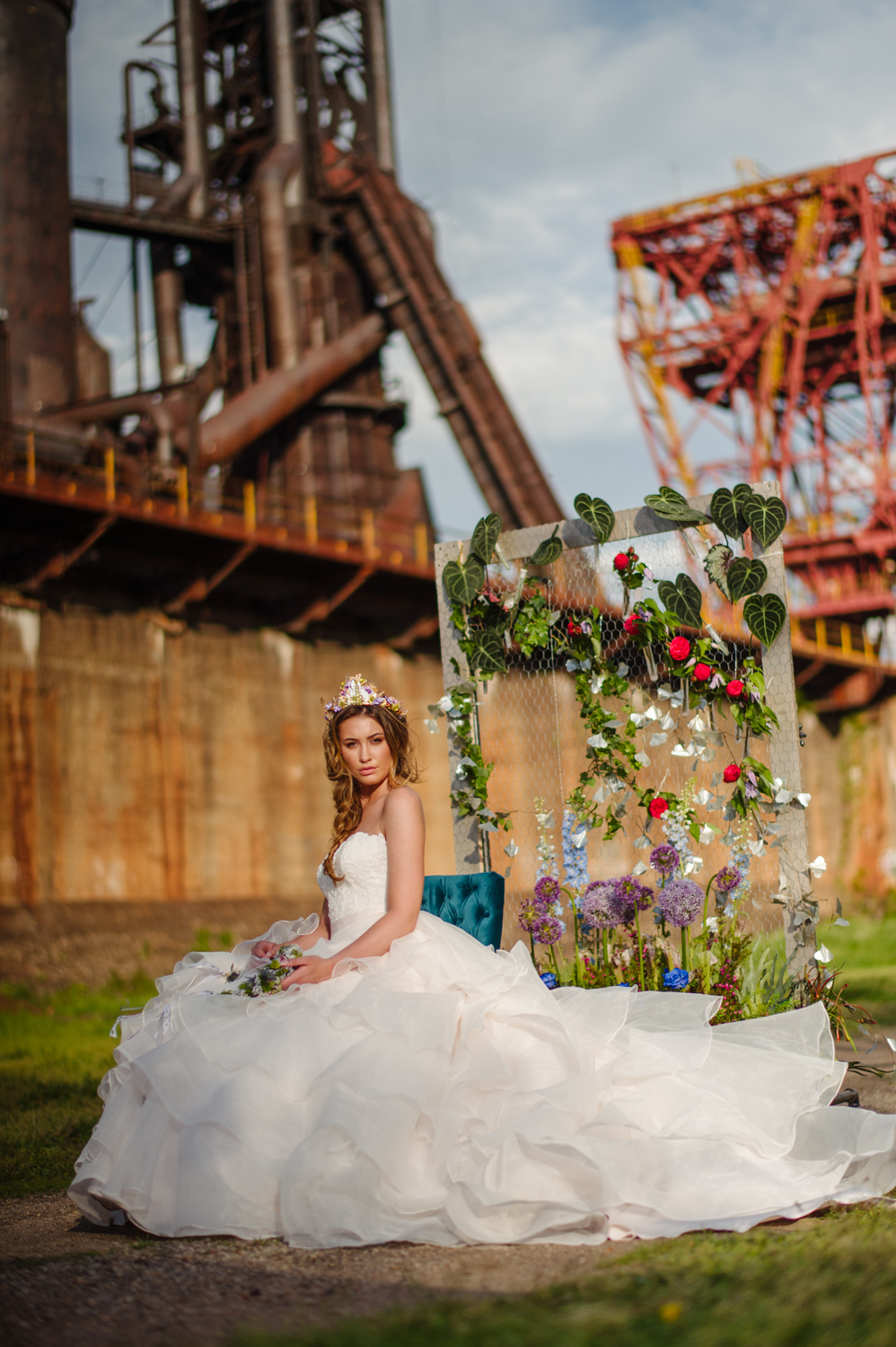 carrie furnace wedding