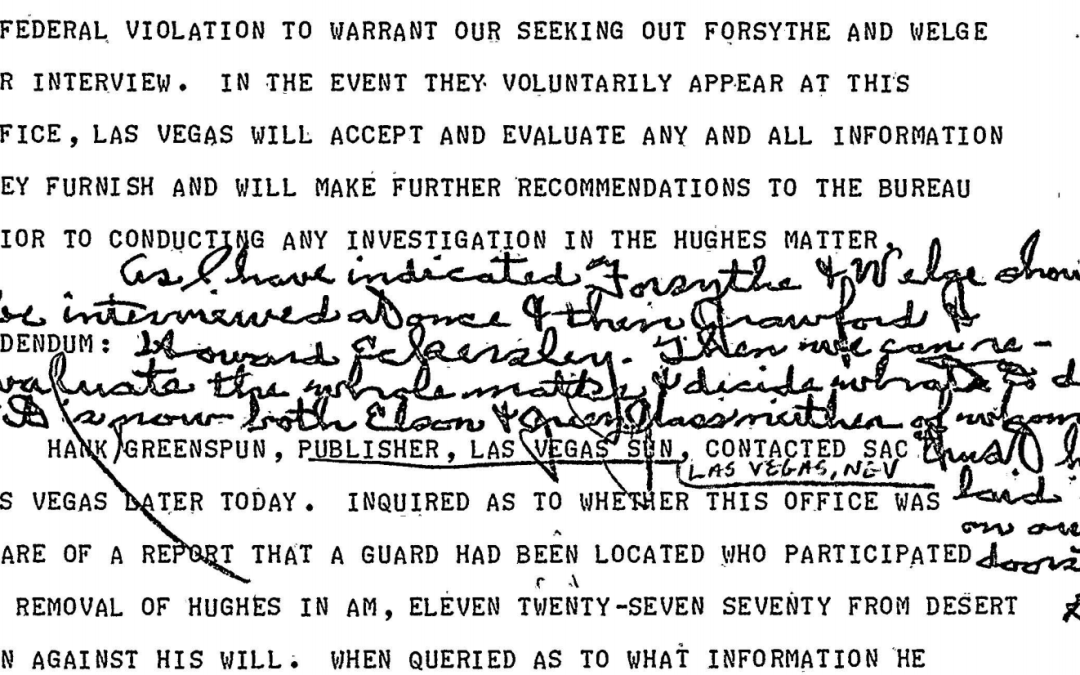 J. Edgar Hoover and the Forsythe Saga