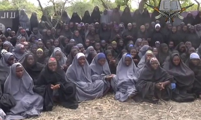 girls taken by Boko Haram