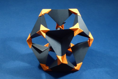 small resolution of cuboctahedron pyramid vertex module pvm inverted unit assembly